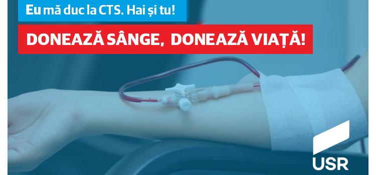 Acțiune donare sânge