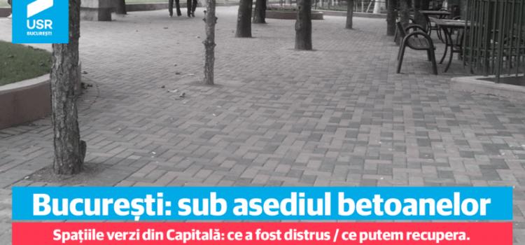 Dezbatere – București: sub asediul betoanelor