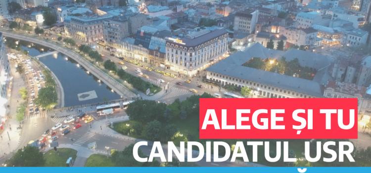 USR Sector 3 organizează alegeri interne pentru desemnarea candidatului USR Sector 3 la primăria de sector